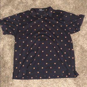 Polo by Ralph Lauren Royal Pattern Polo Shirt (L)